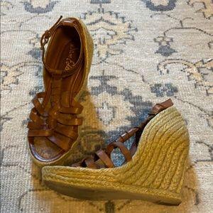 Sam Edelman woven espadrille sandals 7.5